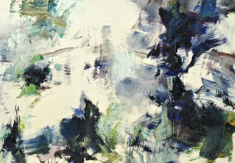 Martin Reukauf, Wald (665) 2017 70 x 100